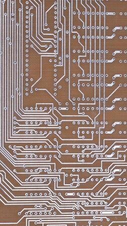 Printed Circuit Board at day