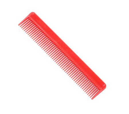 Red Comb Isolated Banco de Imagens