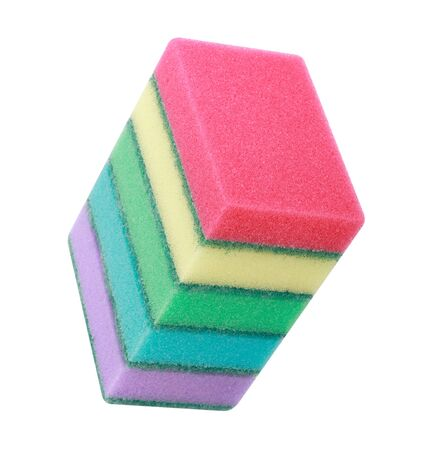 many foam rubber  sponge Banque d'images - 127631548