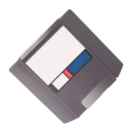 micro floppy disk isolated