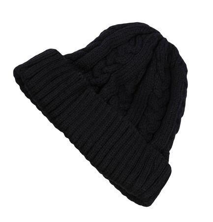 Warm Men black Cap