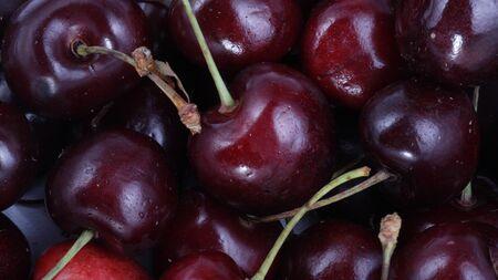 many sweet cherry at day