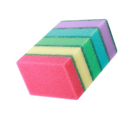 many foam rubber  sponge
