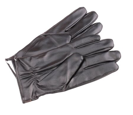 Leather Gloves Isolated Imagens