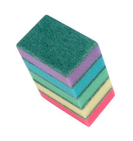 many foam rubber  sponge Banque d'images - 132476662