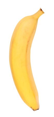 Banana gialla isolata