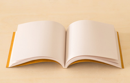 blank note book: Blank note book on the desk