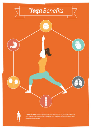 Yoga Benefits Vector