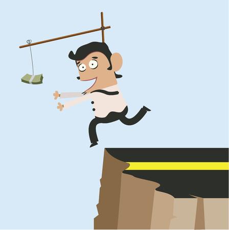 Young Business and Money on Trap  Ilustração