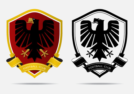 Set of soccer football badge logo design template sport team set of soccer football badge logo design template sport team identity minimal design of maxwellsz