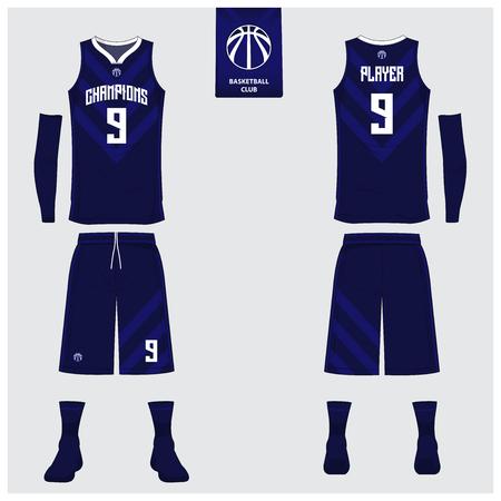 Basketball uniform or sport jersey design