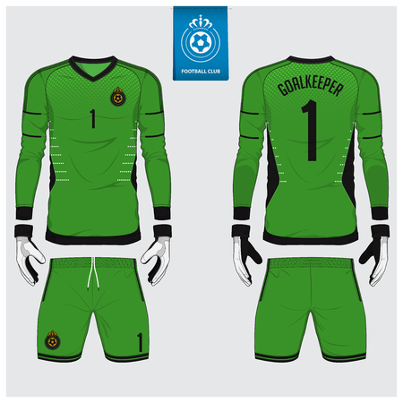 Realistic Vector Cycling Uniform Template. Blue And Green. Branding ... 43776023d