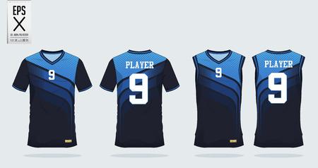 Ilustracja projekt koszulki sportowej