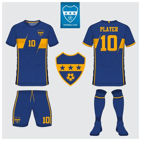 soccer jersey football kit t shirt sport short sock template