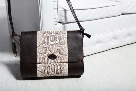 billfold: bag for women and girl on one shoulder