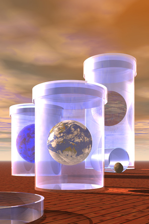 Planets In Jars
