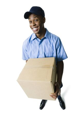 Portrait Of A Delivery Man