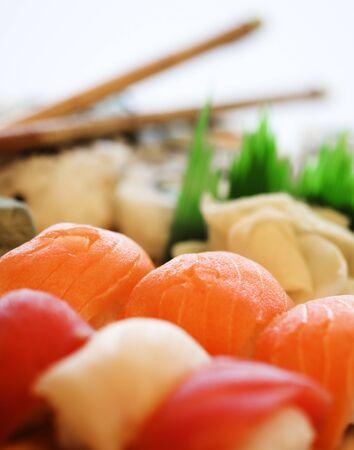 Close-Up Of Sushi Platter LANG_EVOIMAGES