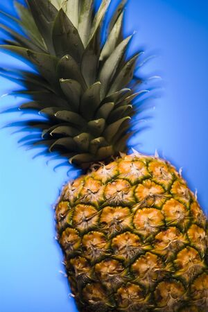 Close-Up Of A Pineapple