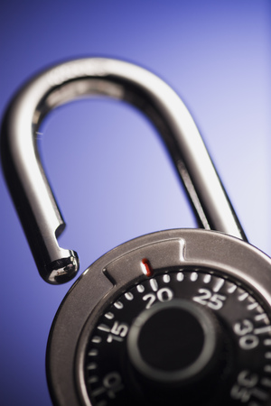 combination: Close-Up Of A Combination Lock