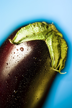 Close-Up Of An Eggplant
