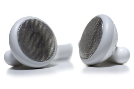 Close-Up Of The Earpiece Of A Pair Of Headphones