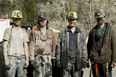 clutter: Portrait Of Four Coal Miners