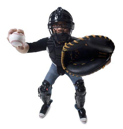 backstop: Baseball Catcher LANG_EVOIMAGES