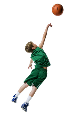 Young Boys Playing Basketball LANG_EVOIMAGES