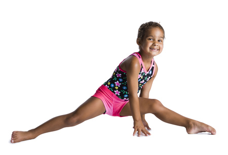 Young Female Gymnast LANG_EVOIMAGES