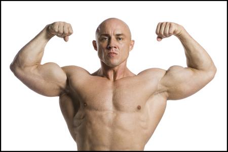 Male Bodybuilder Posing