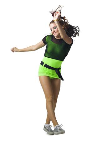 tweens: Girl In Costume Dancing