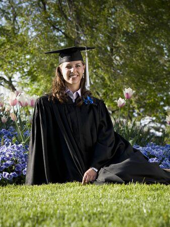 Female Student Graduate