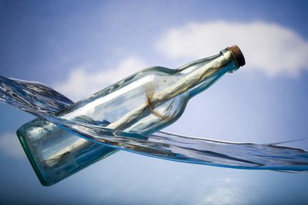 plea: Message In A Floating Bottle