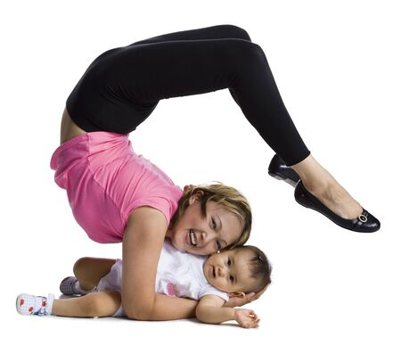 Flexible Mother And Daughter