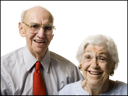 aging woman: Elderly Couple LANG_EVOIMAGES