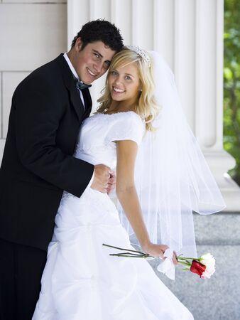 Newlywed Bride And Groom LANG_EVOIMAGES