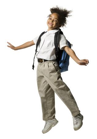 Young Schoolgirl