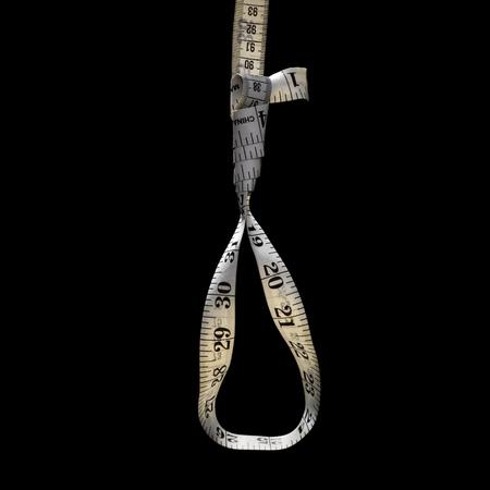 Tape Measure Forming Noose