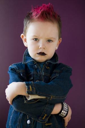 tough: Boy With A Mohawk LANG_EVOIMAGES