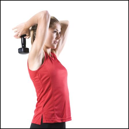 spandex: Athletic Woman