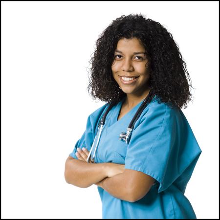 cna: Female Healthcare Professional