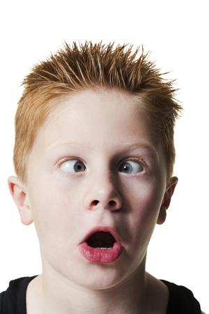 Boy Pulling Funny Face LANG_EVOIMAGES