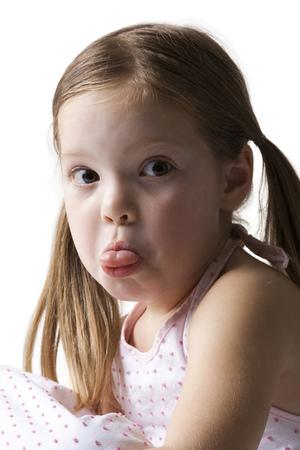 Sad Looking Little Girl LANG_EVOIMAGES