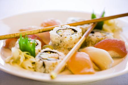 Sushi And Chopsticks LANG_EVOIMAGES