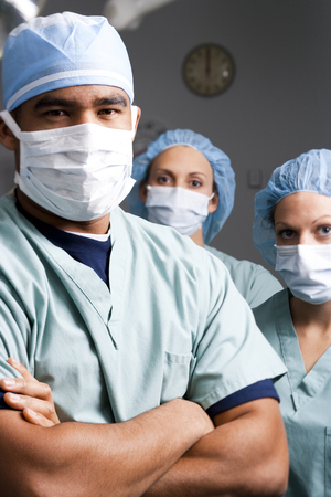 caregivers: Medical Personnel In Surgery
