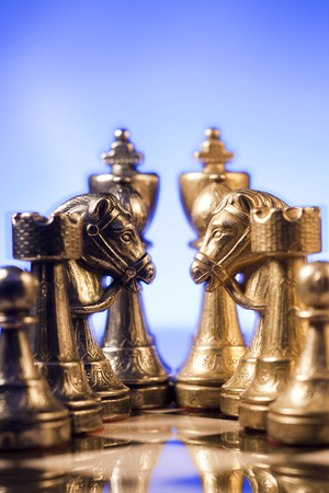 Chess Board And Chess Pieces