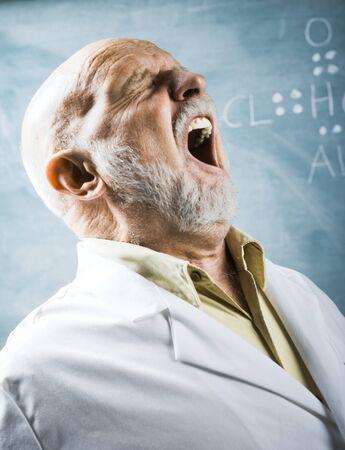 the elderly tutor: Male Science Teacher Talking LANG_EVOIMAGES