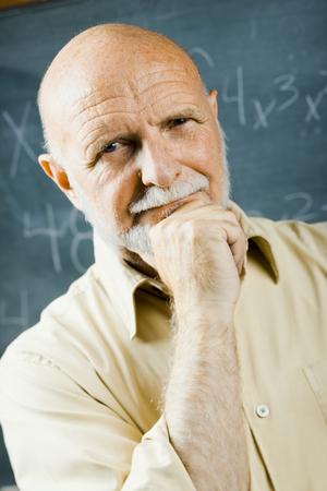 the elderly tutor: Male School Teacher LANG_EVOIMAGES