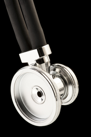 Stethoscope Close-Up Abstract